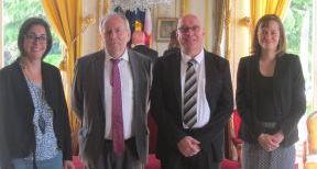 Le bureau d'Epernay signe une convention de mécénat avec la ville