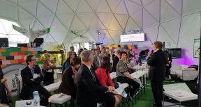 Les rencontres de l'AAvenir sur le Pavillon du futur au VIteff à Epernay