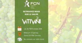 FCN participe au salon Viti Vini d'Epernay