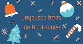 Fermeture de fin d'année du bureau de Paris