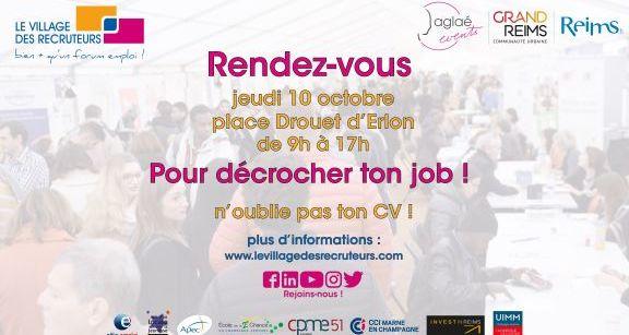 FCN participe au village des recruteurs à Reims !