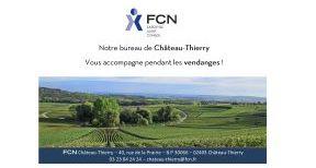 Le bureau de Château-Thierry vous accompagne pendant les vendanges !